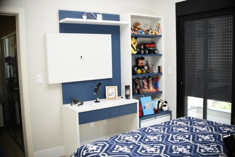 Dormitório Infanto Juvenil Planejado Bragança Paulista - Dormitório Planejado