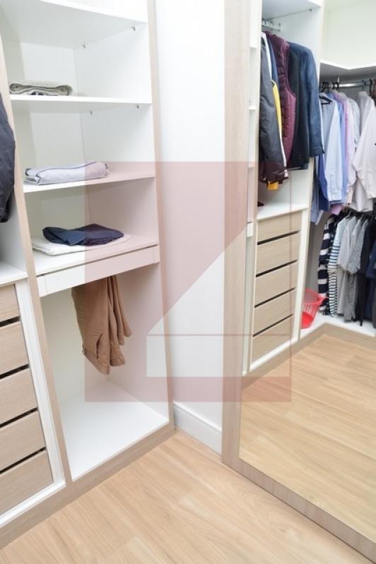 Dormitório Planejado de Canto Condomínio Barão do Café - Dormitório Planejado
