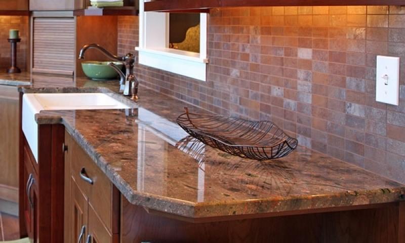 Granito Escuro para Cozinha Fazenda Santa Maria - Bancada de Granito para Cozinha