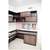 móveis planejados para escritório no quarto preço Jardim Cambui
