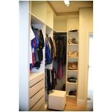 orçamento de closet planejado em l Gramado