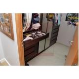 orçamento de closet planejado para apartamento pequeno Bragança Paulista
