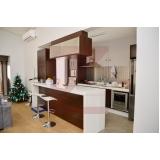 quanto custa a cozinha planejada apartamento Condomínio Estância Paraíso