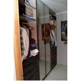 valor de closet planejado com penteadeira Botafogo